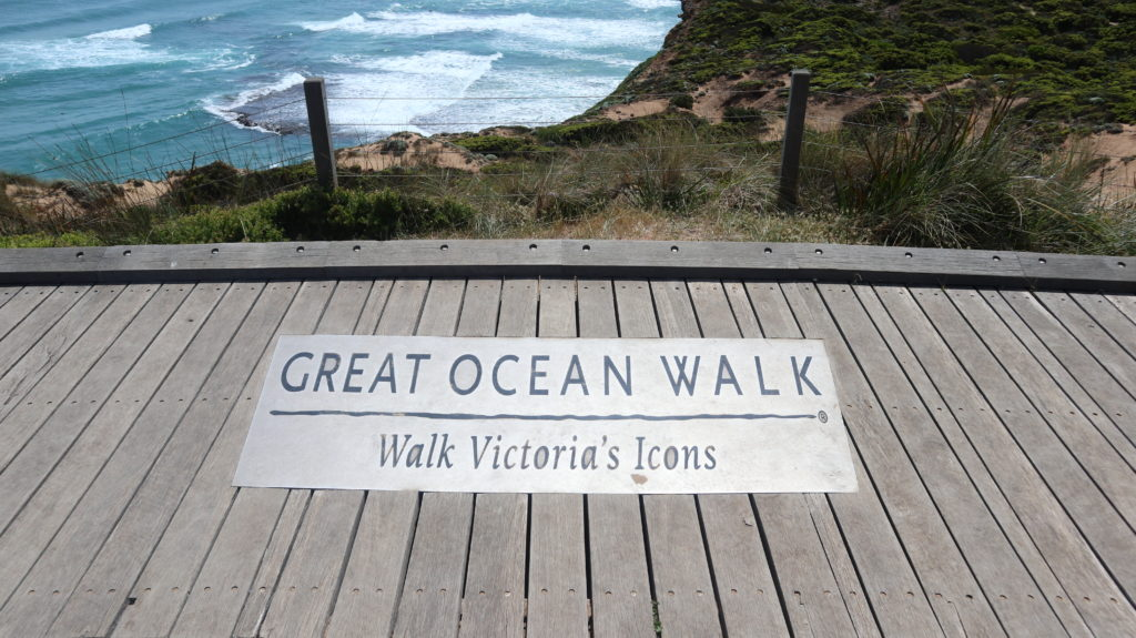Great Ocean Walk Schild