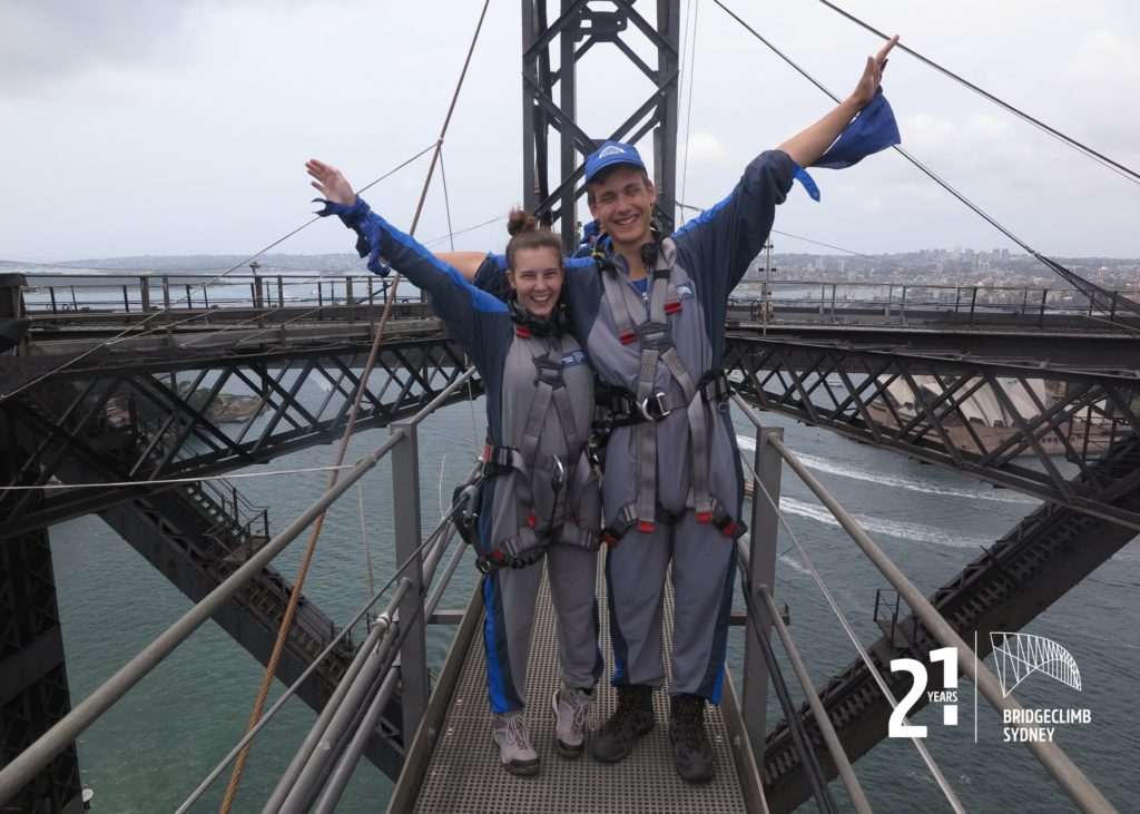 Sydney: Bridge Climb, Wir