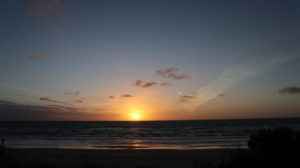 Jahresrückblick 2019 Sonnenuntergang