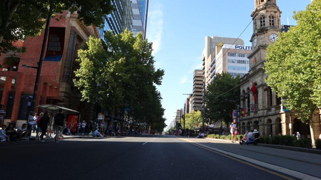 Adelaide King William Street