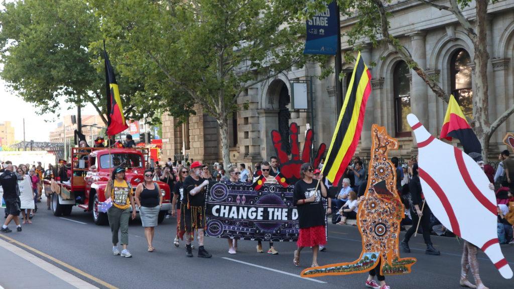 Ureinwohner fordern neues Datum Australia Day Parade Adelaide