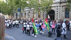 Adelaide Parade Togo Gruppe