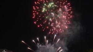 Feuerwerk Australia Day Adelaide