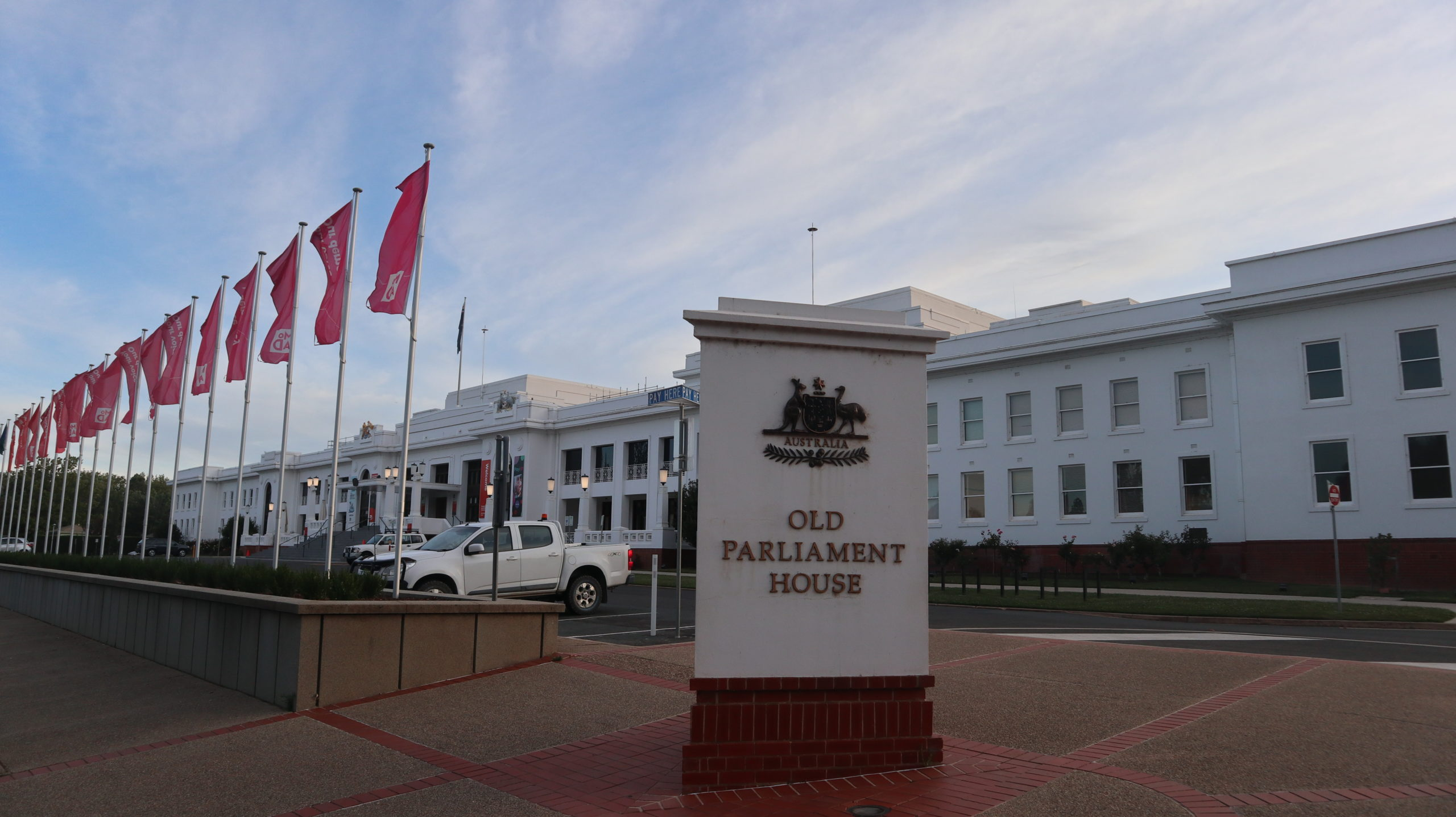 Canberra: Altes Parlament