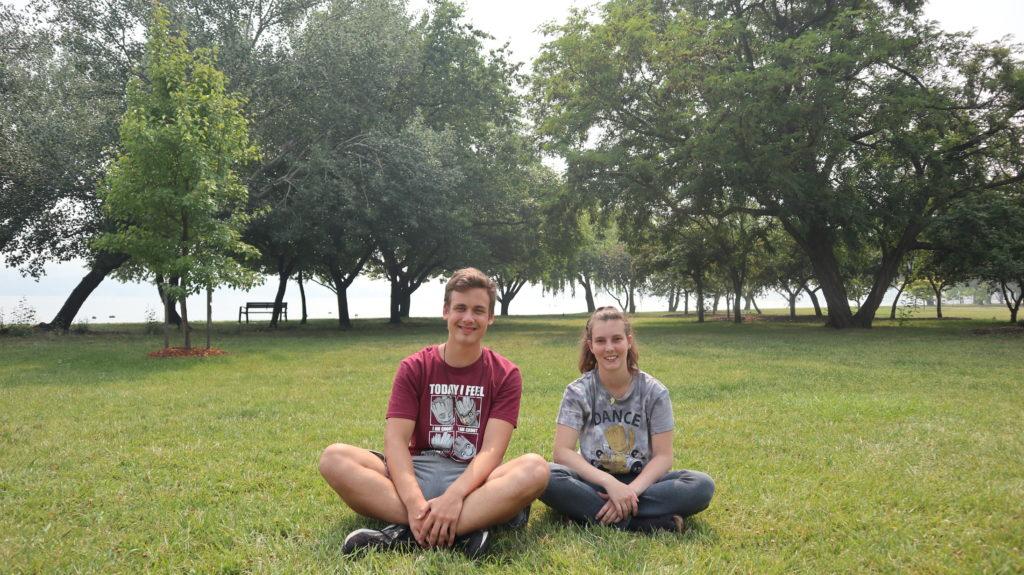 Wir im Park
