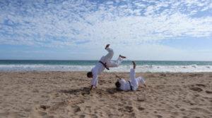 Projekte während der Coronakrise: Judo am Strand