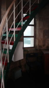 Cape Leewin Lighthouse: bunte Stufen