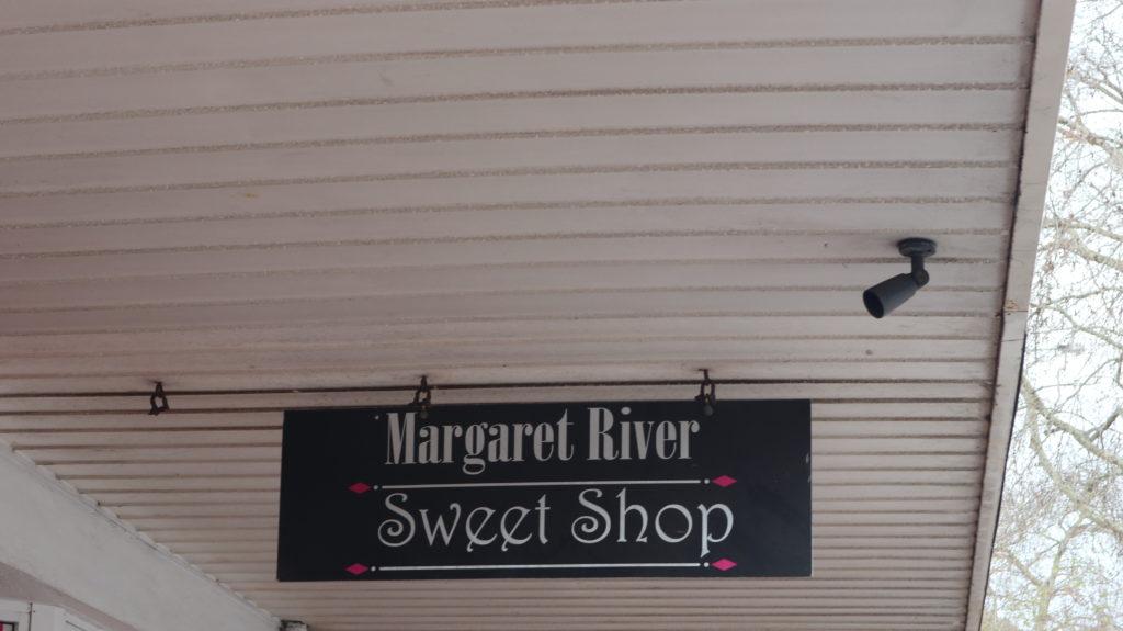 Margaret River Sweetshop Schild