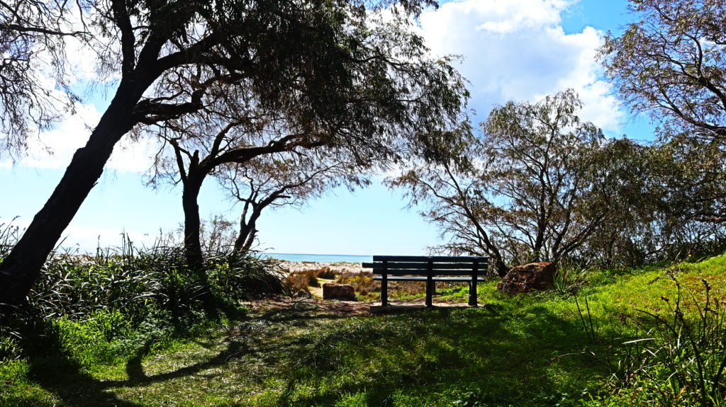 Dunsborough Beach: Sitzbank