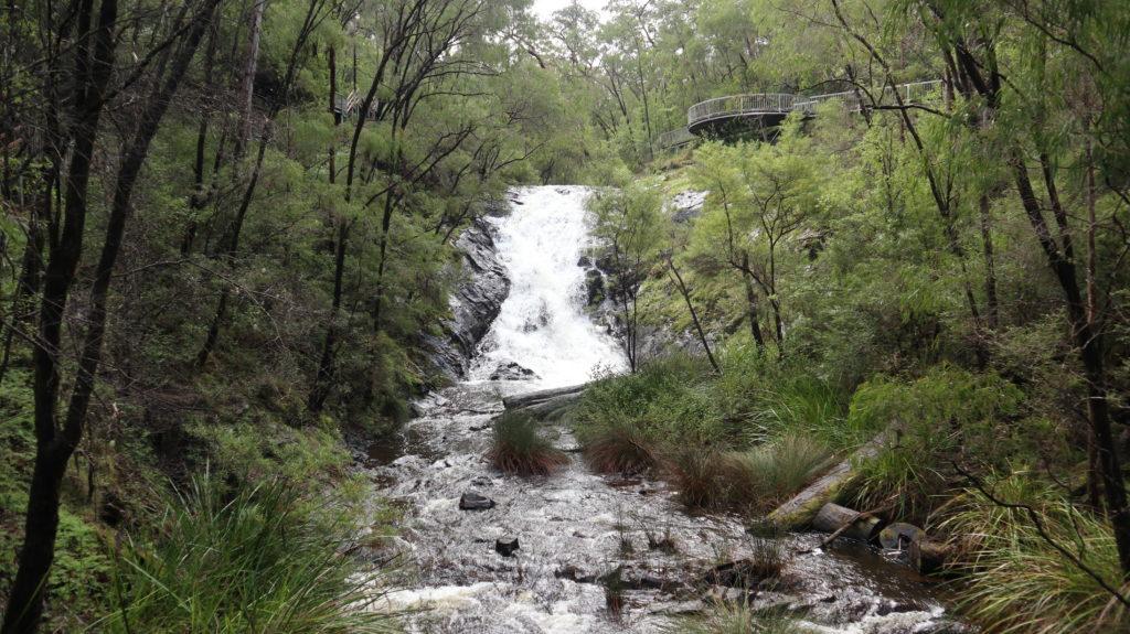 Der Süd-Westen Australiens: Wasserfall