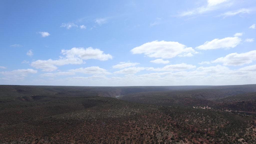 Kalbarri Nationalpark Ausblick