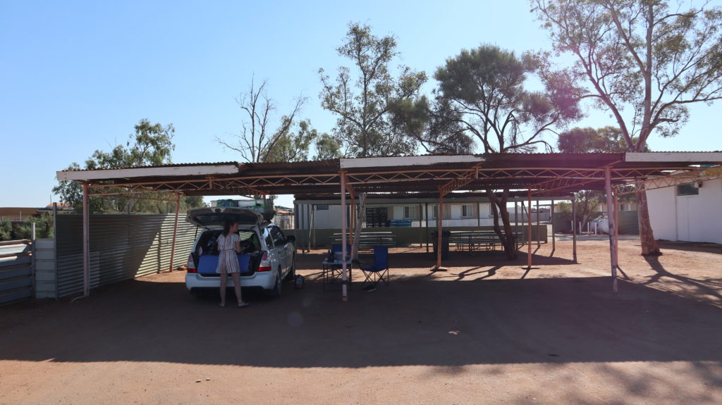 Billabong Roadhouse Unser Auto