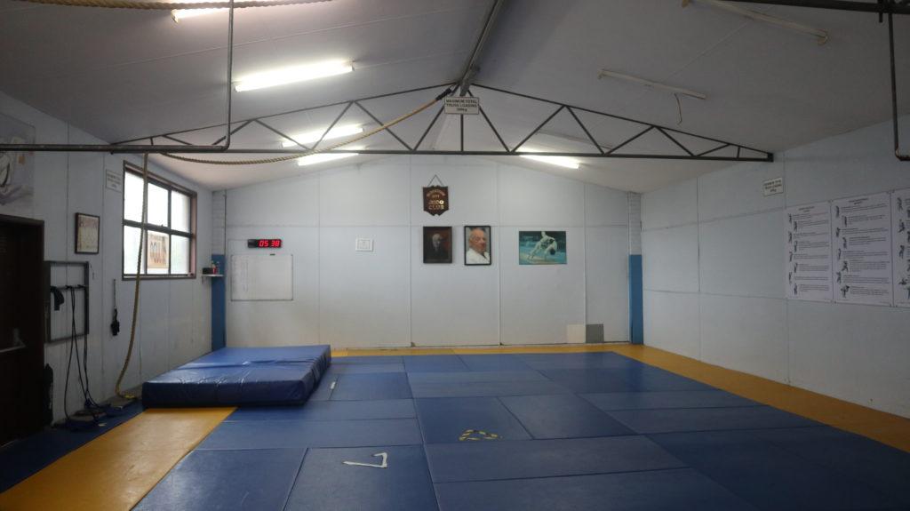 Judo in Australien Halle