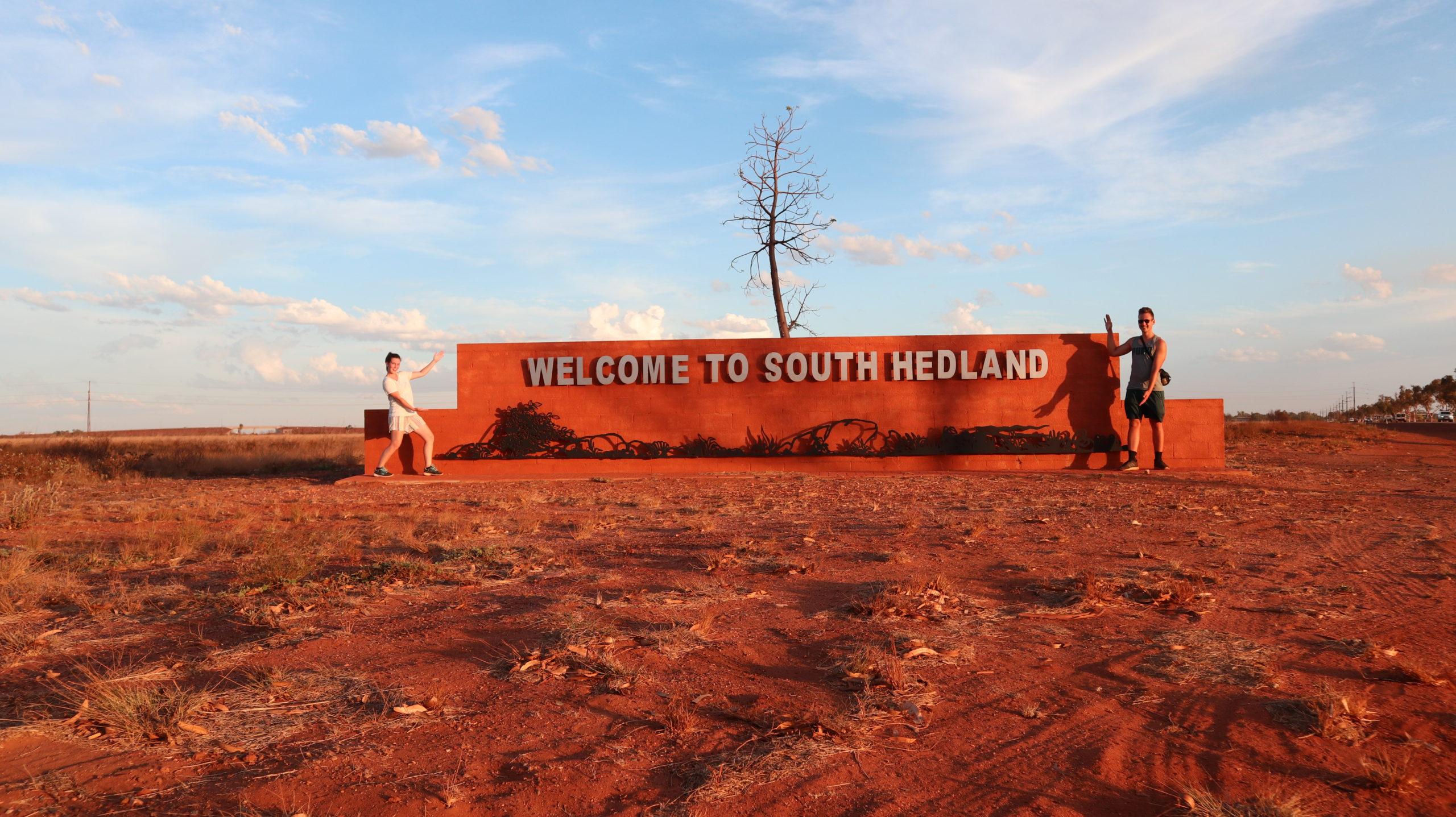 Port Hedland Schild