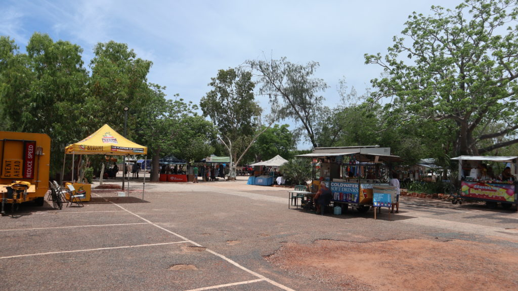 Markt in Broome