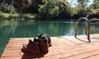 Karijini Nationalpark Schuhe