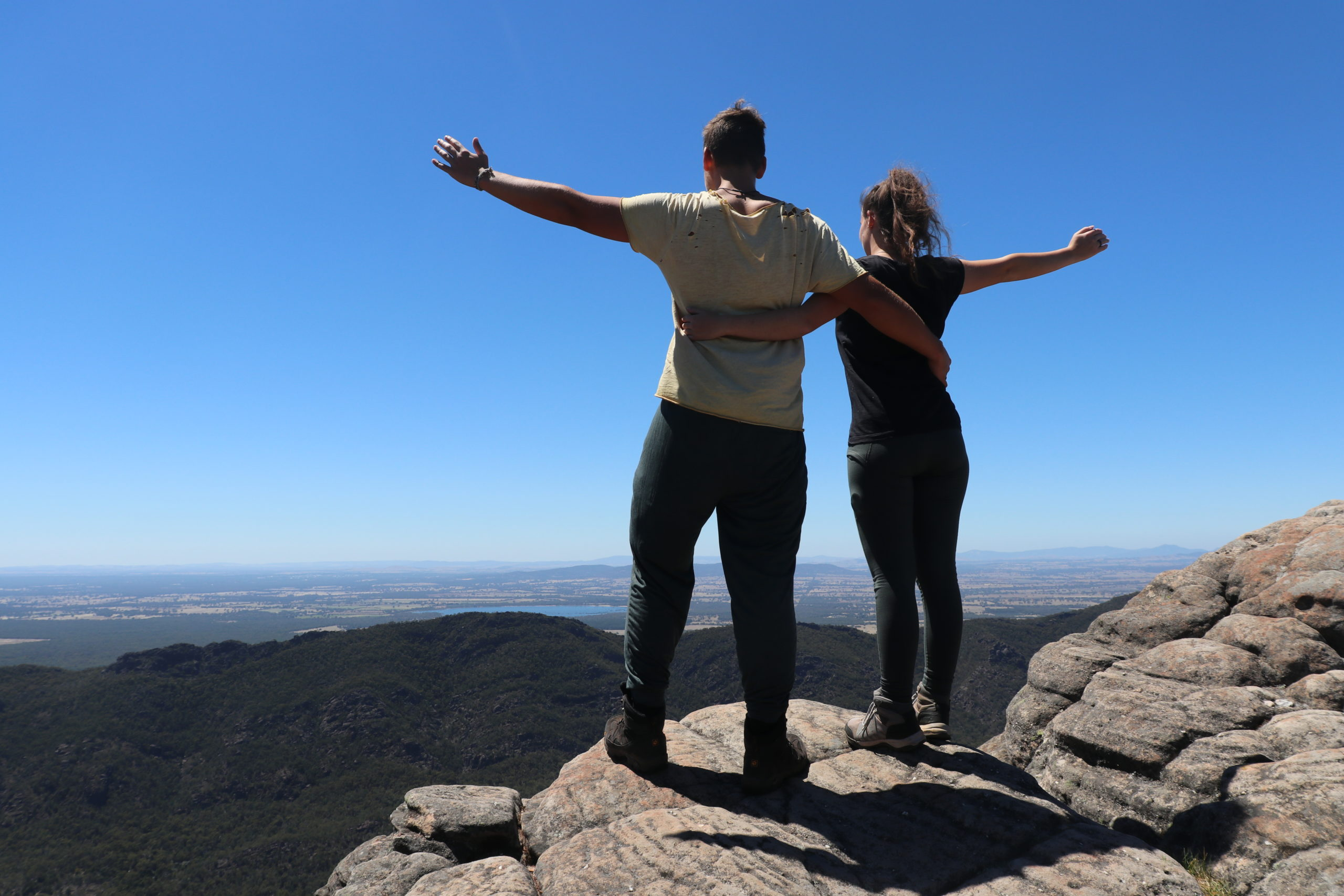 Grampians: Jenny und Daniel Pinnacle Lookout