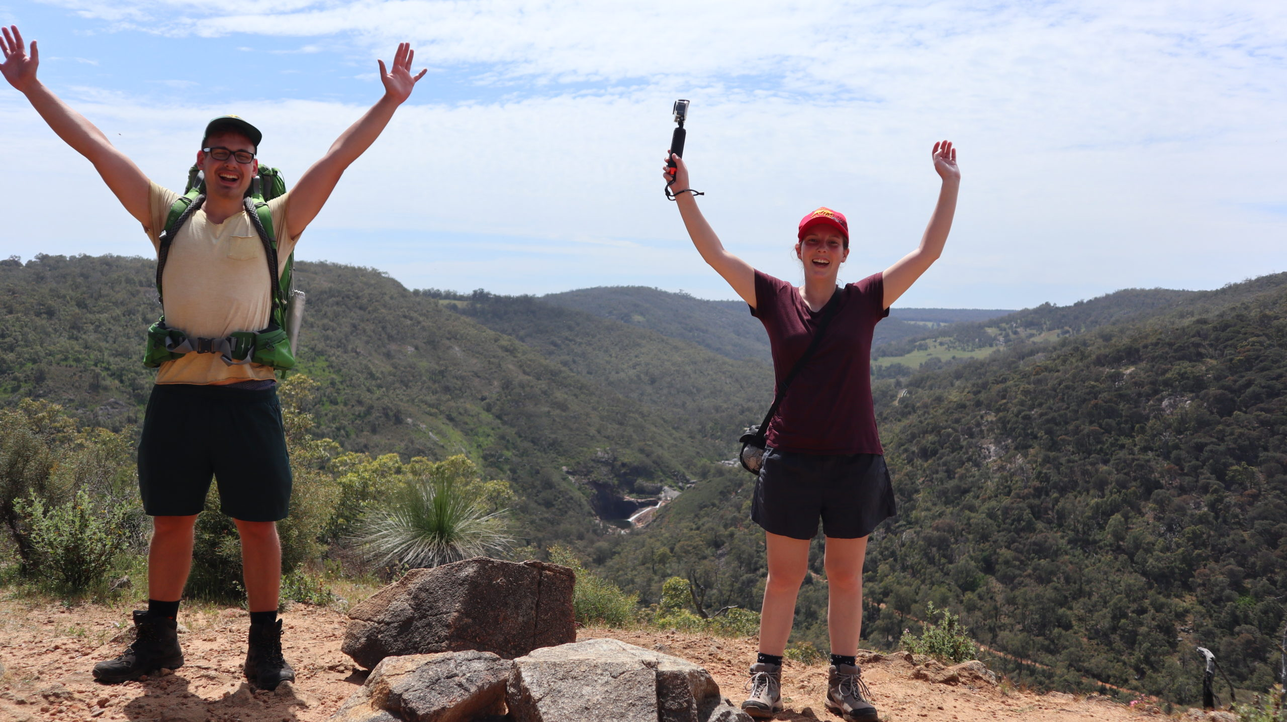 Angst: Gipfel mit Daniel und Jenny
