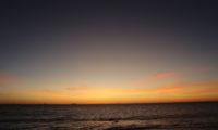 Daniels 19. Geburtstag: Sonnenuntergang