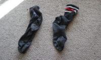 No-Buy-Challenge: kaputte Socken