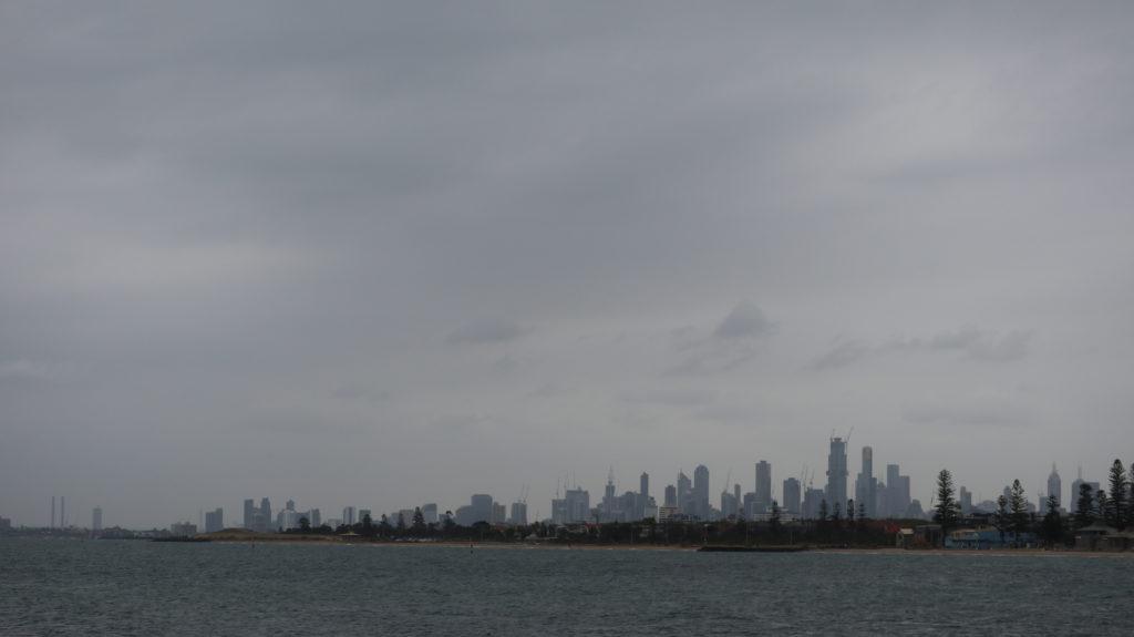Victoria: Skyline von Melbourne