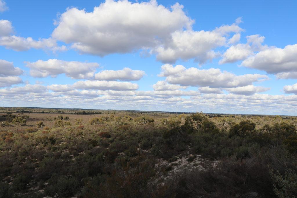 Little Desert Nationalpark Ausblick