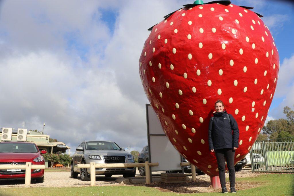 Cobram: Jenny und Big Strawberry
