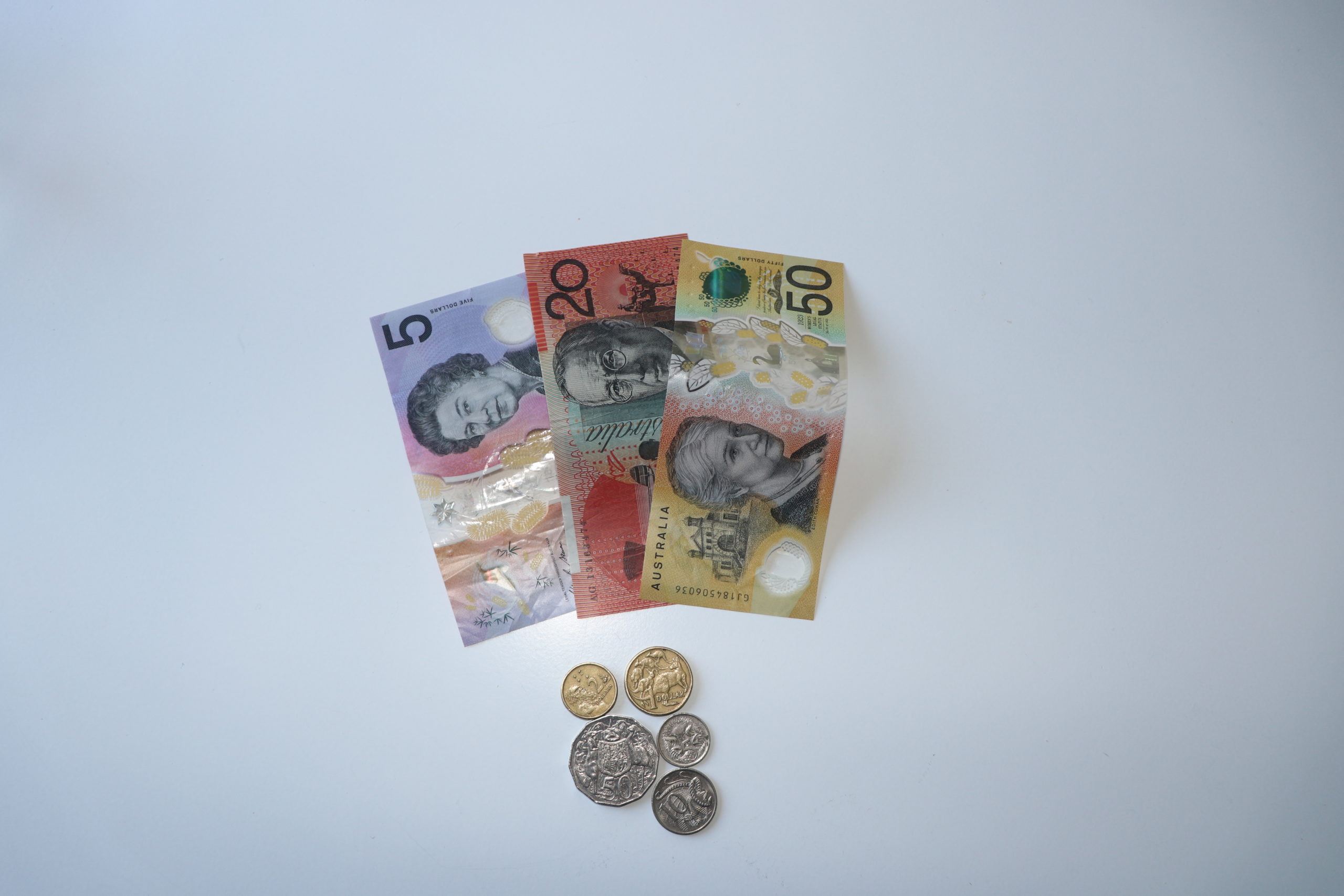 Konto: australisches Geld