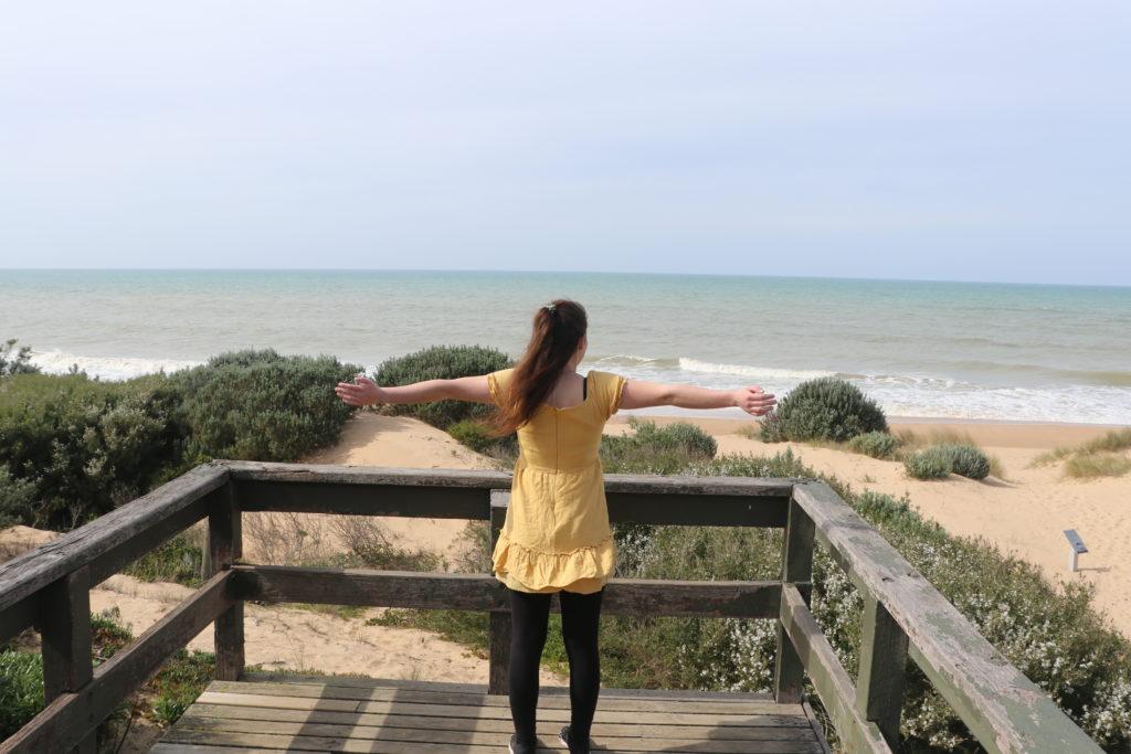Freiheit: Jenny am Meer